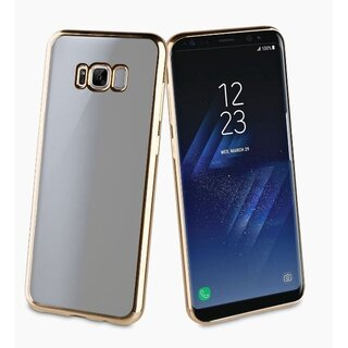Muvit Life Bling Soft Case TPU Protective Cover for Samsung Galaxy S8 Gold