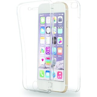 Azuri Front + Rückseite TPU Soft Case Klar für Apple iPhone 6 Plus / 6S Plus