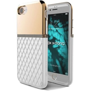 X-Doria Engage Case Crown Hardcase for Apple iPhone 7/8 Gold-White