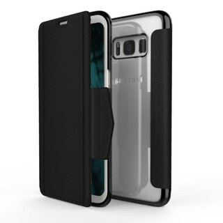 X-Doria Engage Folio Booklet Case for Samsung Galaxy S8+ Plus Black