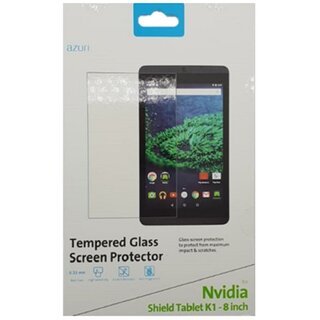 Azuri 9H Glass Screen Protector for Nvidia Shield Tablet K1 8.0 Clear