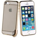 Muvit Life Diam TPU Soft Case for Apple iPhone 5/5S/SE Gold