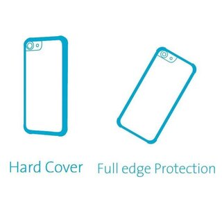 Azuri Hard Cover for Samsung Galaxy J3 (2017) Clear
