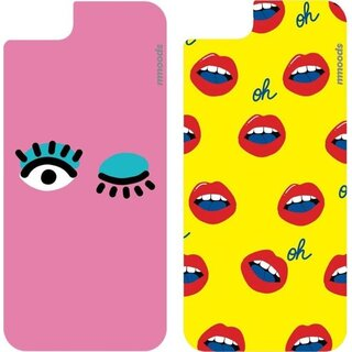 mmoods PET Inserts/Inlays 2x Beauty Geek für Apple iPhone 7/8