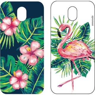 mmoods PET Inserts/Inlays 2x Tropical for Samsung Galaxy J5 (2017)