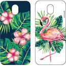 mmoods PET Inserts/Inlays 2x Tropical for Samsung Galaxy...