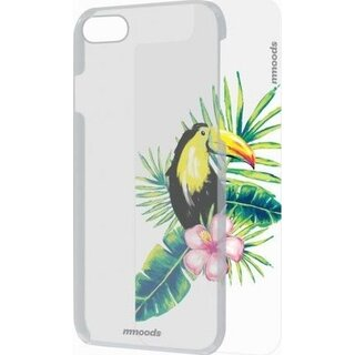 mmoods Case Clear with 1 Insert Tropical for Apple iPhone 7/8