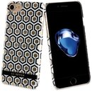 So Seven Back Case Midnight Hexagonal Gold für Apple...